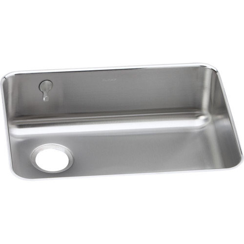 Elkay ELUH2317REK Gourmet Lustertone Stainless Steel Single Bowl Undermount Sink Kit