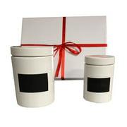 KitchenWorthy 2-Piece Jar Set