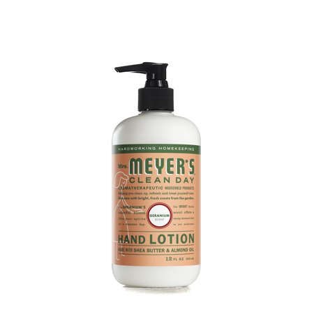 (3 pack) Mrs. Meyer's Clean Day Hand Lotion, Geranium, 12 oz