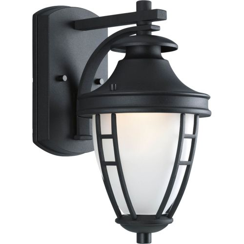"""Progress Lighting P5492 Fairview 1 Light 12"""" Tall Outdoor Wall Sconce with Etched Glass Enclosure"""
