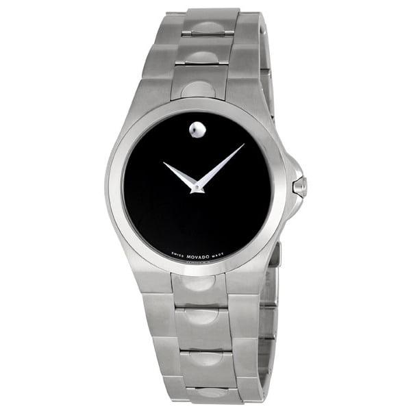 Movado Luno Black Dial Mens Watch 0605556