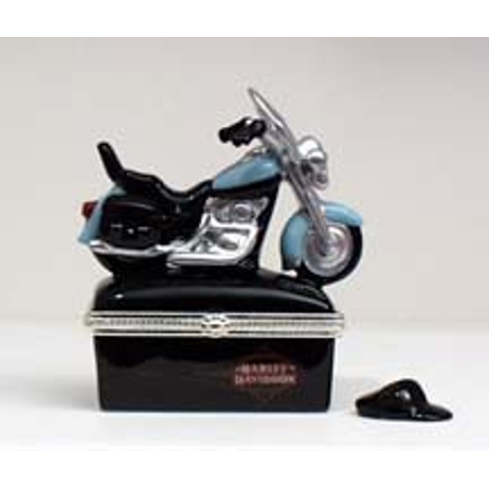 PHB Soft-tail Harley Davidson Porcelain Hinged (Phb Porcelain)