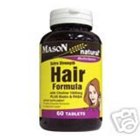 HAIR FORMULA EXTRA STRENGTH TABS BY MASON BOTTLE OF 60](Mason Bottles)