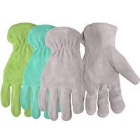 Boss Ladies Assorted Split Leather Suede Gloves