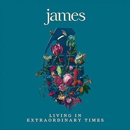 James - Living In Extraordinary Times (CD) - image 1 of 1