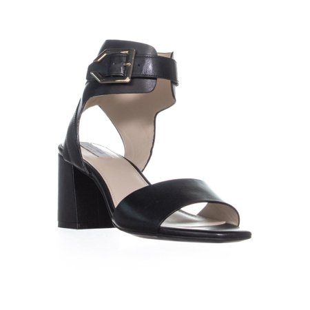 Cole Haan Avani Ankle Buckle Sandals, Black Leather - image 6 of 6