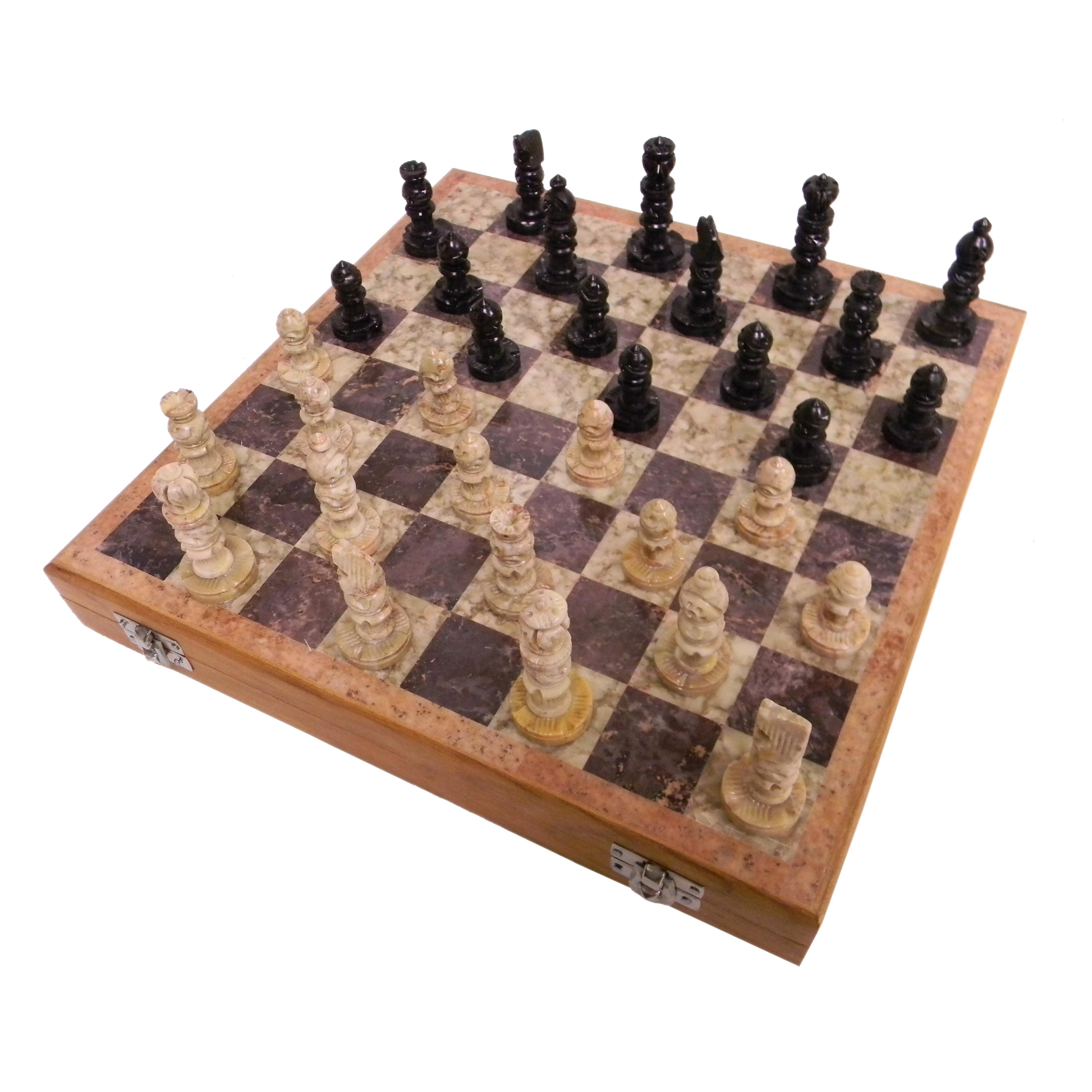 Soapstone Chess Set , Model F751