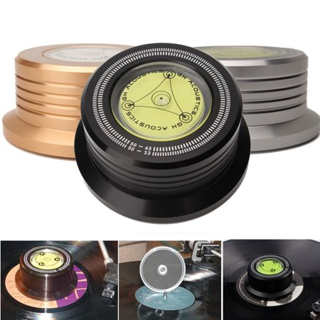 New 3 In 160HZ Record Clamp LP Disc Stabilizer Turntable For Vibration Balanced](Halloween Lp Records)