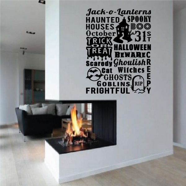 Jackolantern Quote Wall Decal - Vinyl Decal - Car Decal - Vd001 - 36 Inches
