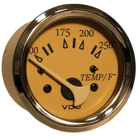 VDO Allentare Teak Water Temperature Gauge Water Temperature Gauge