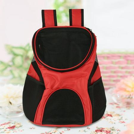 9aed0e095e Ejoyous Portable Dog Cat Pet Double Shoulder Carrier Bag Backpack  Breathable Mesh Travel Outdoor US,Pet Carrier Bag, Dog Carrier Bag -  Walmart.com