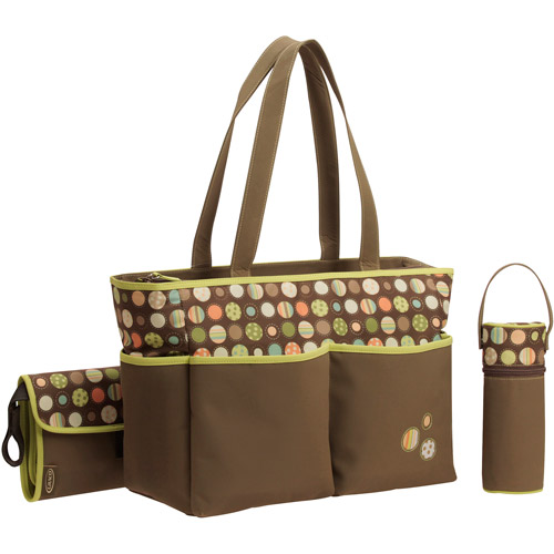 Graco Diaper Bag, Lively Dots