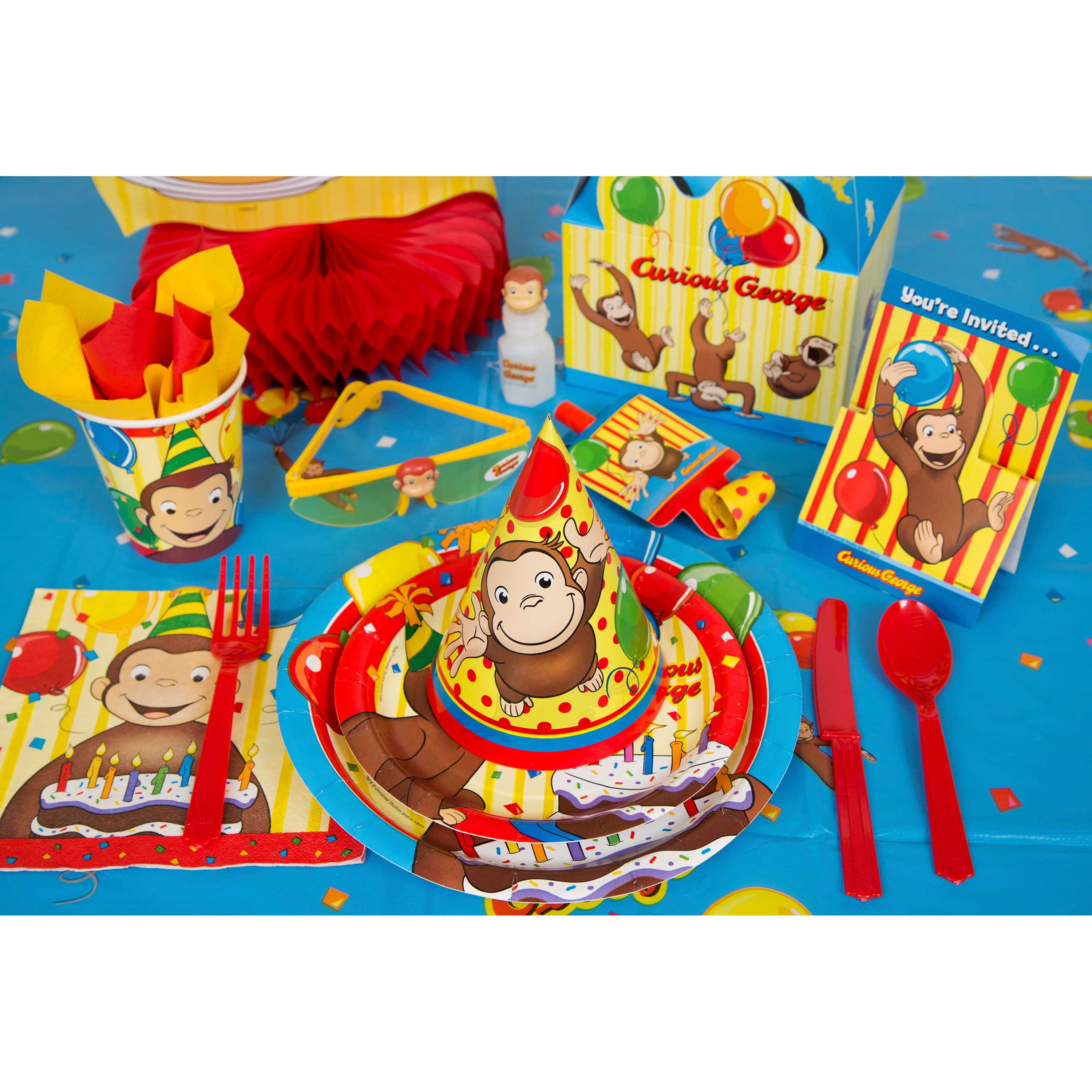 Curious George Party Supplies - Walmart.com