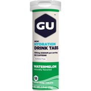GU Hydration Drink Tabs: Watermelon, Box of 8 Tubes