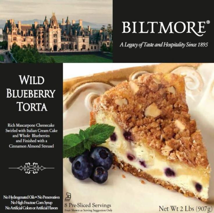 Recommended Distance Price Quantity Check Inventory Biltmore Wild Blueberry Cheesecake