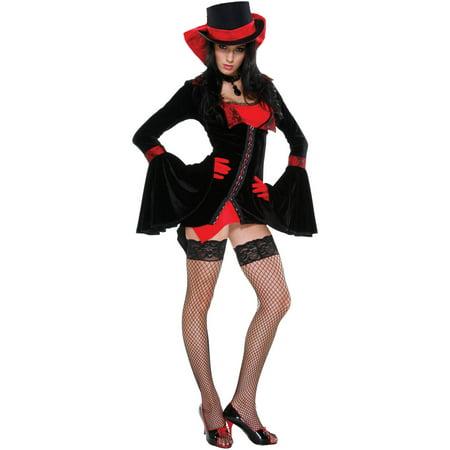 Vampire Vixen Women's Adult Halloween Costume - Hot Vampire Woman