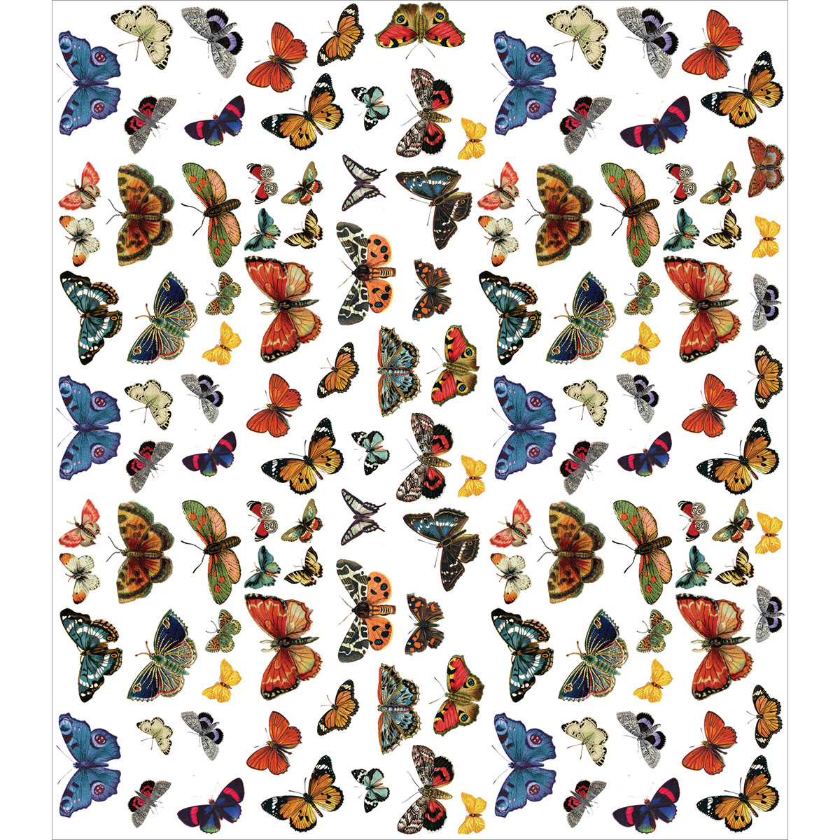 "Craft Consortium Decoupage Papers, 13.75"" x 15.75"", 3pk, Flutter of Butterflies"