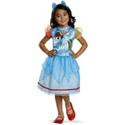 My Little Pony Rainbow Dash Classic Toddler Halloween Dress Up / Role Play Costume