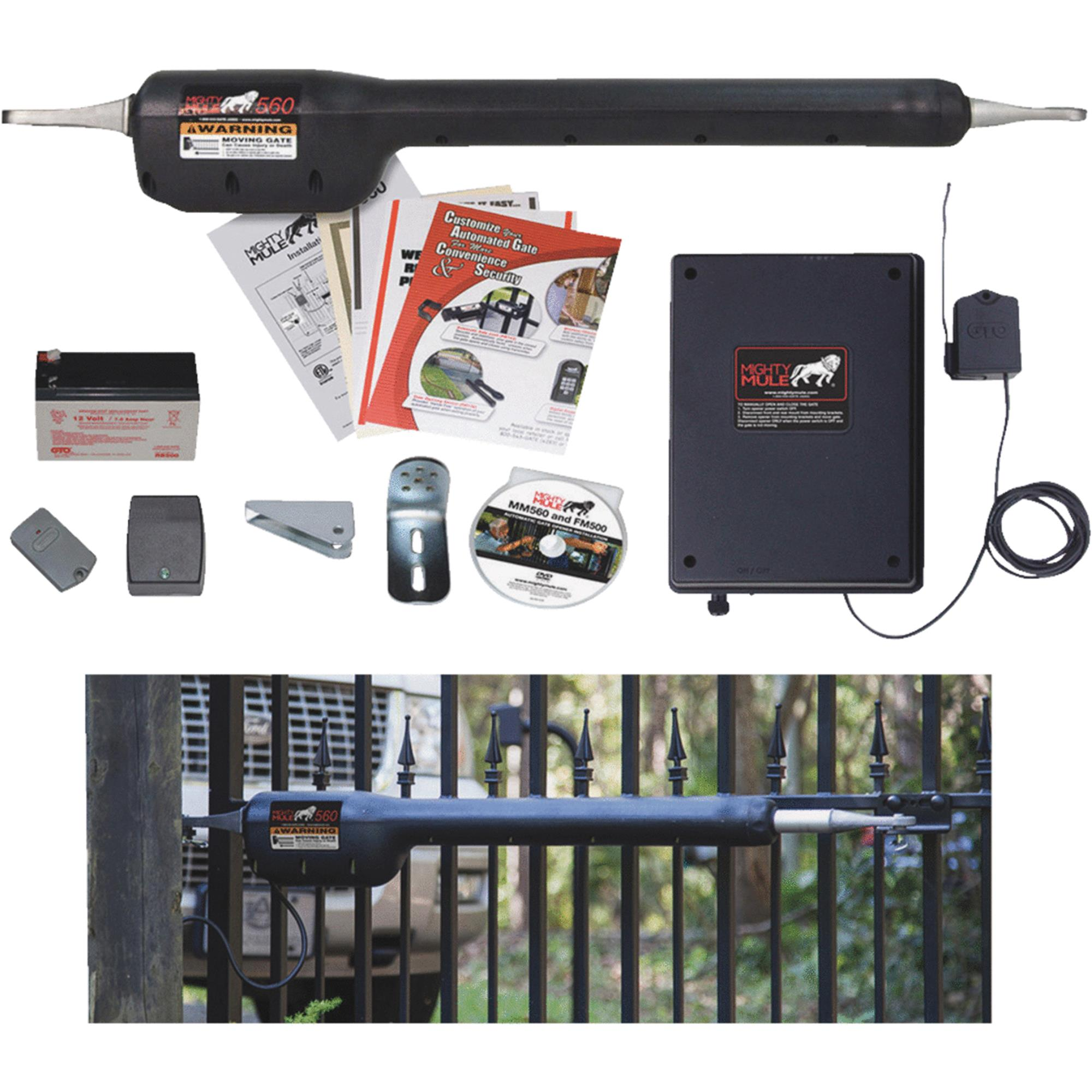 Mighty Mule FM500 Single Heavy Duty Swing Gate Opener