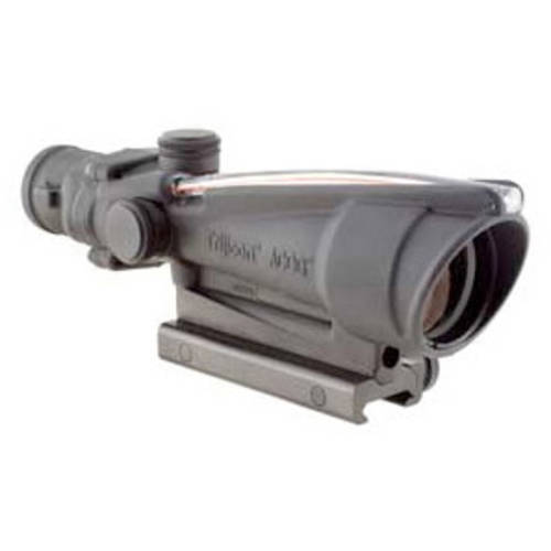Trijicon, ACOG Rifle Scope with TA51 Mount, 3.5X 35, Red Crosshair .223 Reticle, Dual Illuminated, Matte