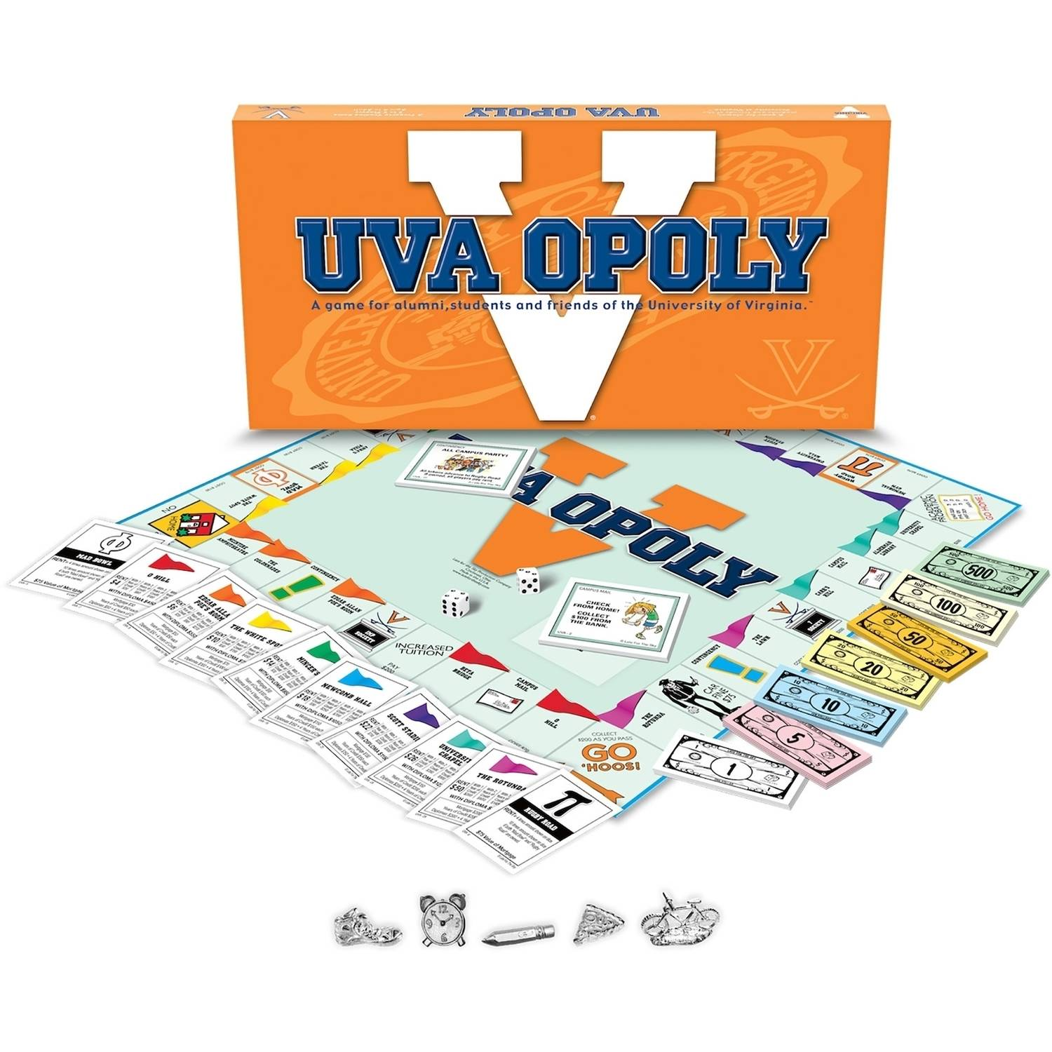 University of Virginia - UVAopoly Board Game