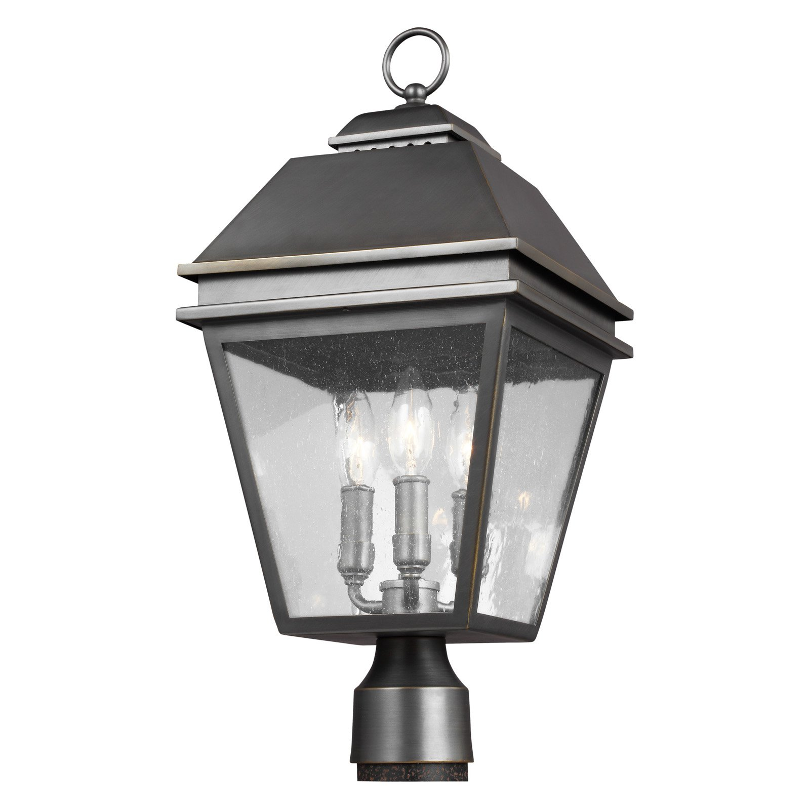 Feiss Herald Outdoor Post Lantern by Feiss