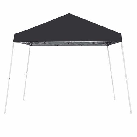 - Z-Shade 10' x 10' Angled Leg Instant Shade Canopy Tent Portable Shelter, Black