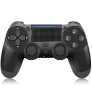 NETNEW PS4 Wireless Game Controller Console Bluetooth Gamepad Compatible with PS4 Rechargeable  Double Shock for PS4  (Black)