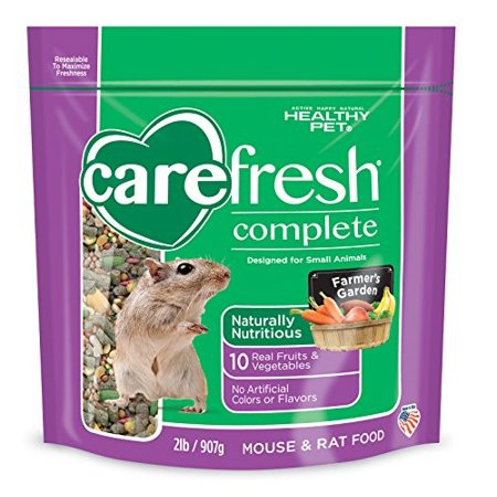 CareFresh Complete Farmer's Garden Menu Rat; Mouse Food, 2 Lb