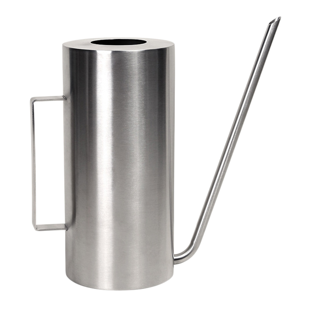 Long Mouth Watering Can Pot Sprinkling Stainless Steel Transparent Patio Plastic