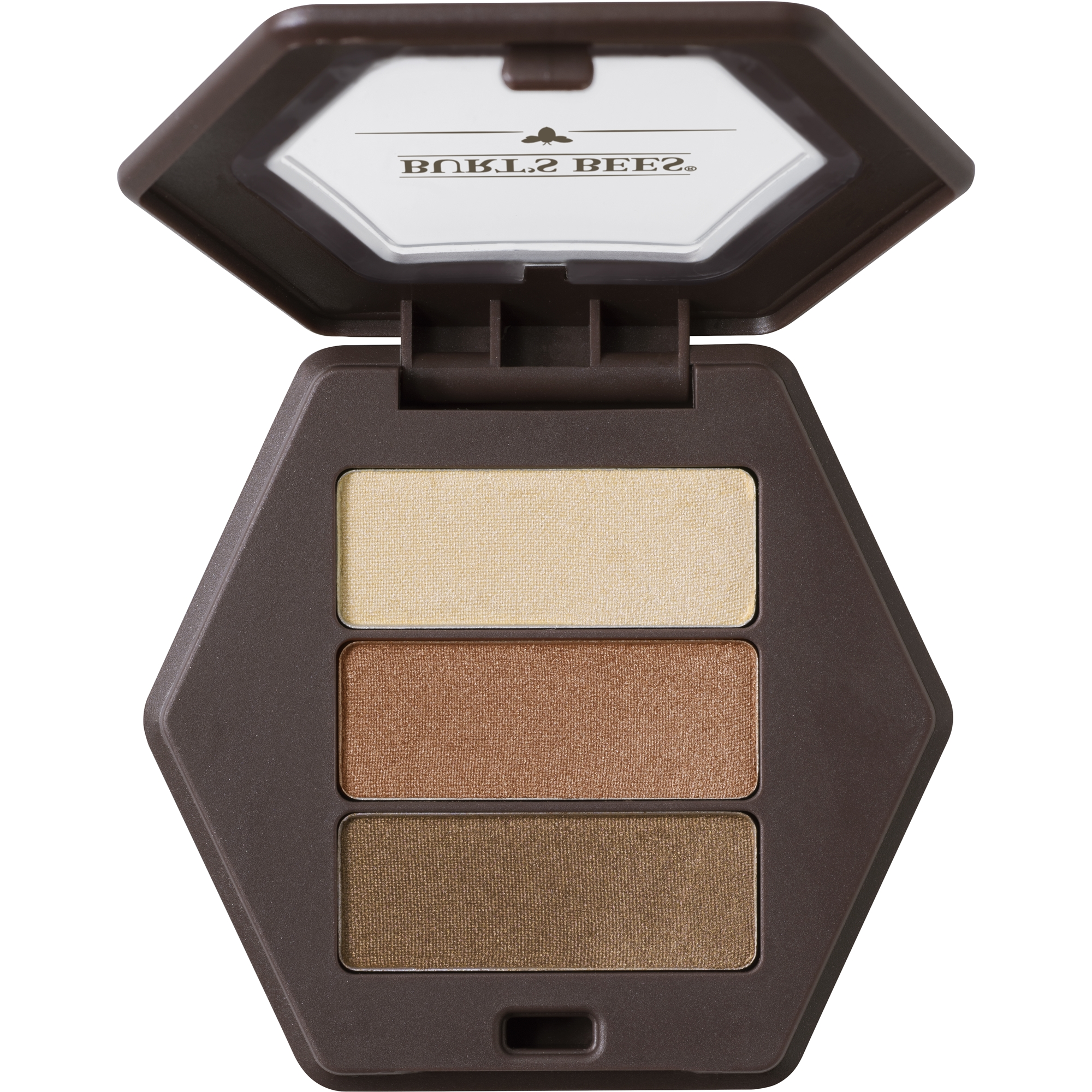Burt's Bees 100% Natural Eye Shadow Palette with 3 Shades, Blooming Desert, 0.12 oz