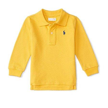 Ralph Lauren Baby Boys' Cotton Mesh Long-Sleeve 9 (Ralph Lauren Baby Boy)