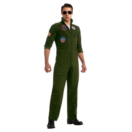 Top Gun Secret Wishes Flight Suit Adult Costume, Small