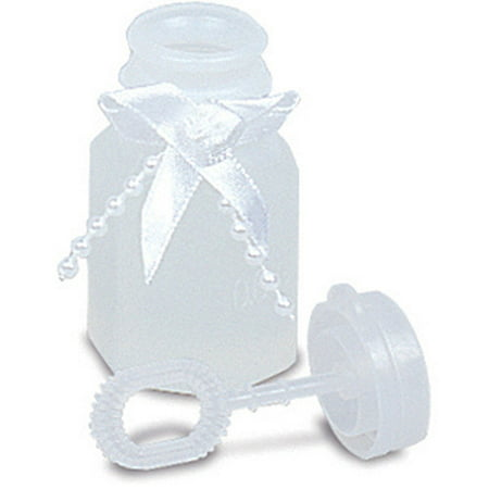 Wedding Favor Bubbles, 0.6 Oz, White, 24ct