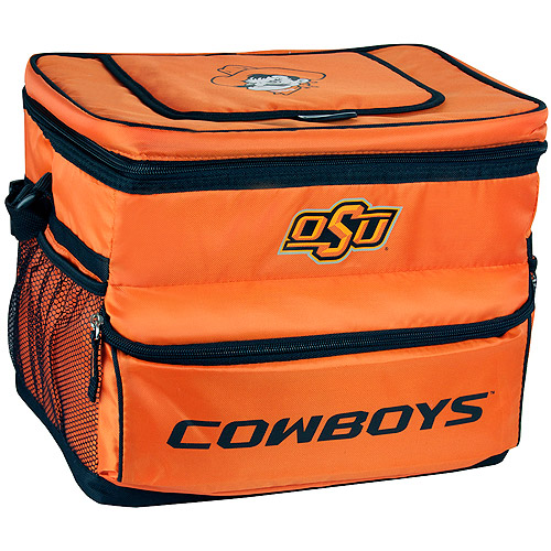 NCAA Oklahoma State University 18-Can Cooler with Removable Hardliner