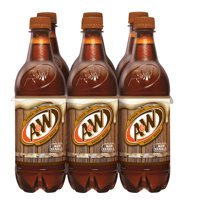 A&W Caffeine-Free Root Beer, 0.5 L, 6 Count