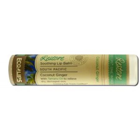 Eco Lips   One World Lip Balm  25 Oz  Restore  25 Oz