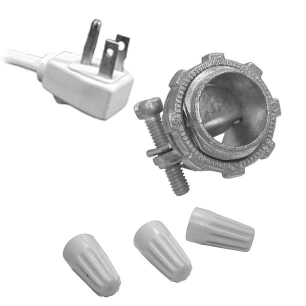 Garbage Disposal Wiring Kit For 3 Cord With Angle Plug Partno E25117 Jonessteph Walmart Com Walmart Com
