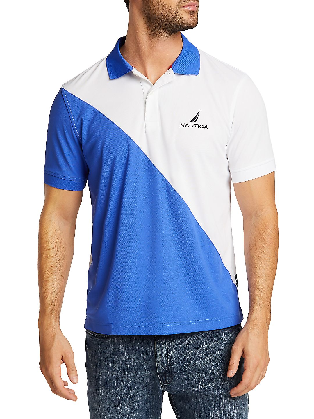 Navtech Classic-Fit Colorblock Polo
