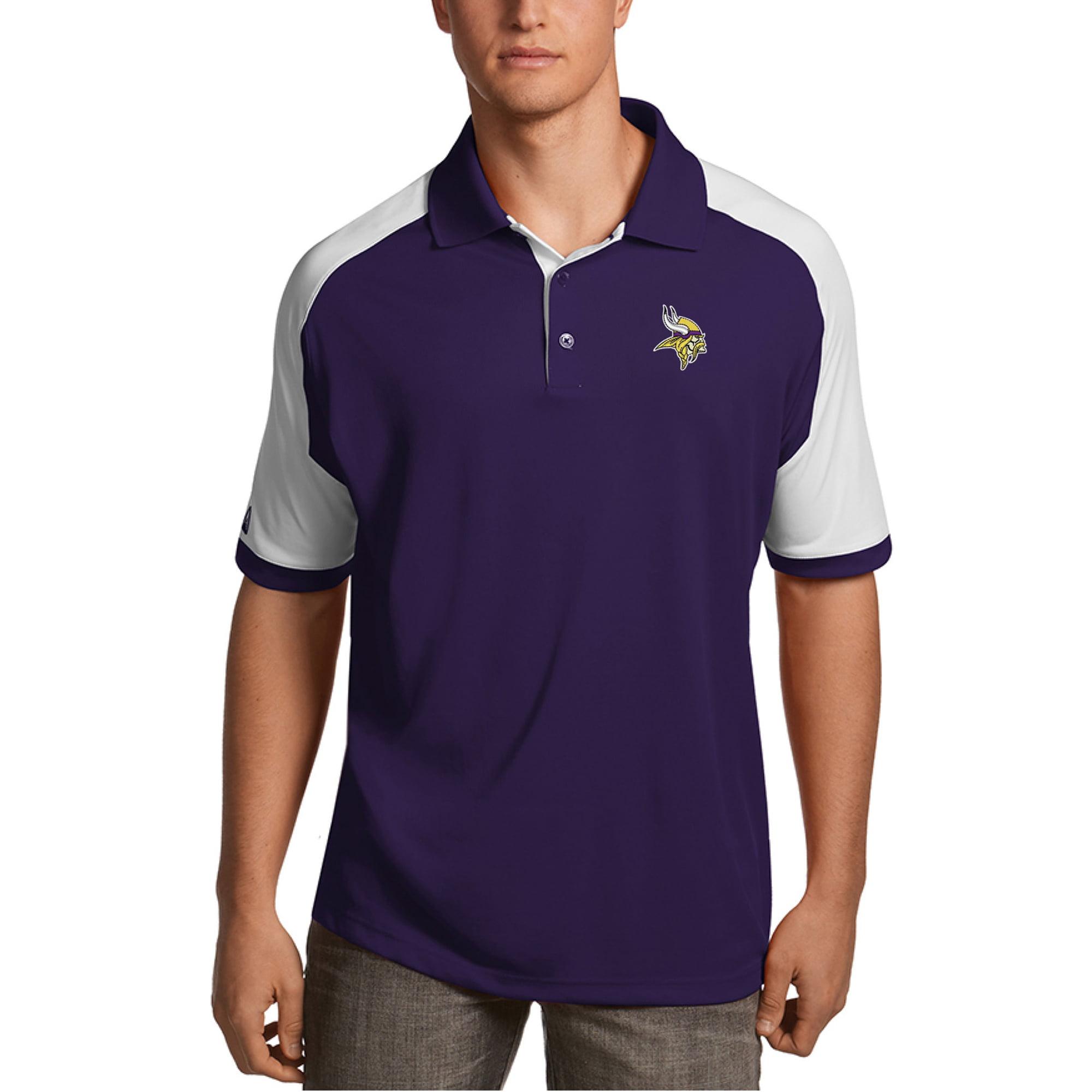 Minnesota Vikings Antigua Century Polo - Purple