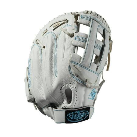 "Louisville Slugger 13"" Xeno Series Fastpitch Softball First Base Mitt, Right Hand Throw"