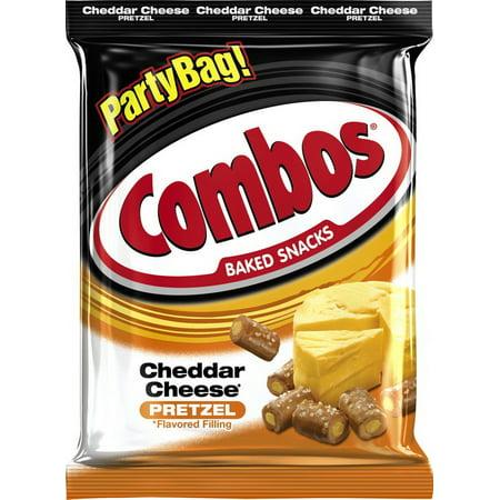 (Price/Case)Combos 286355 Combos Cheddar Cheese Pretzel 15 Ounce 8/Case Mars Pretzel Combos