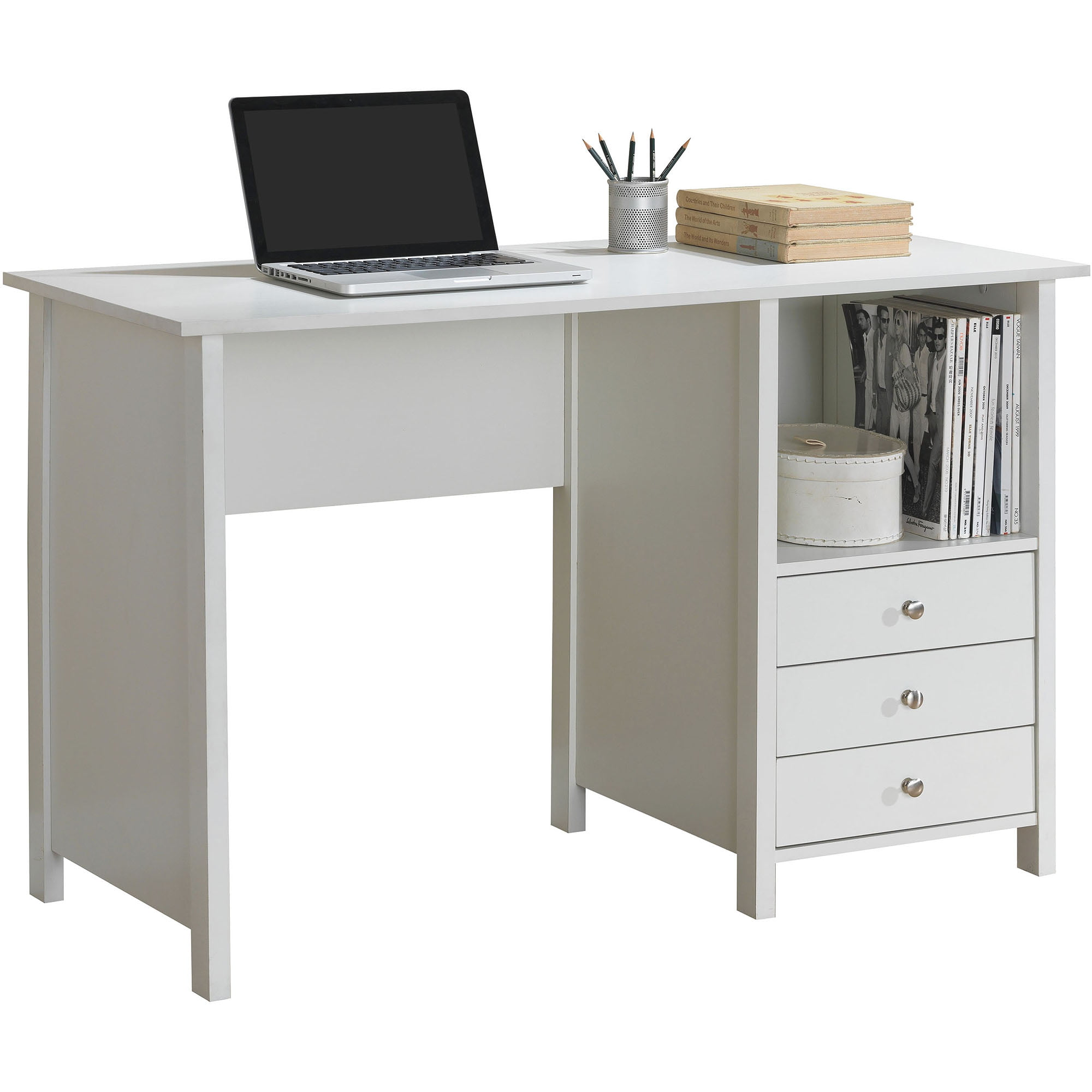 Techni Mobili Contempo Desk White Walmart Com