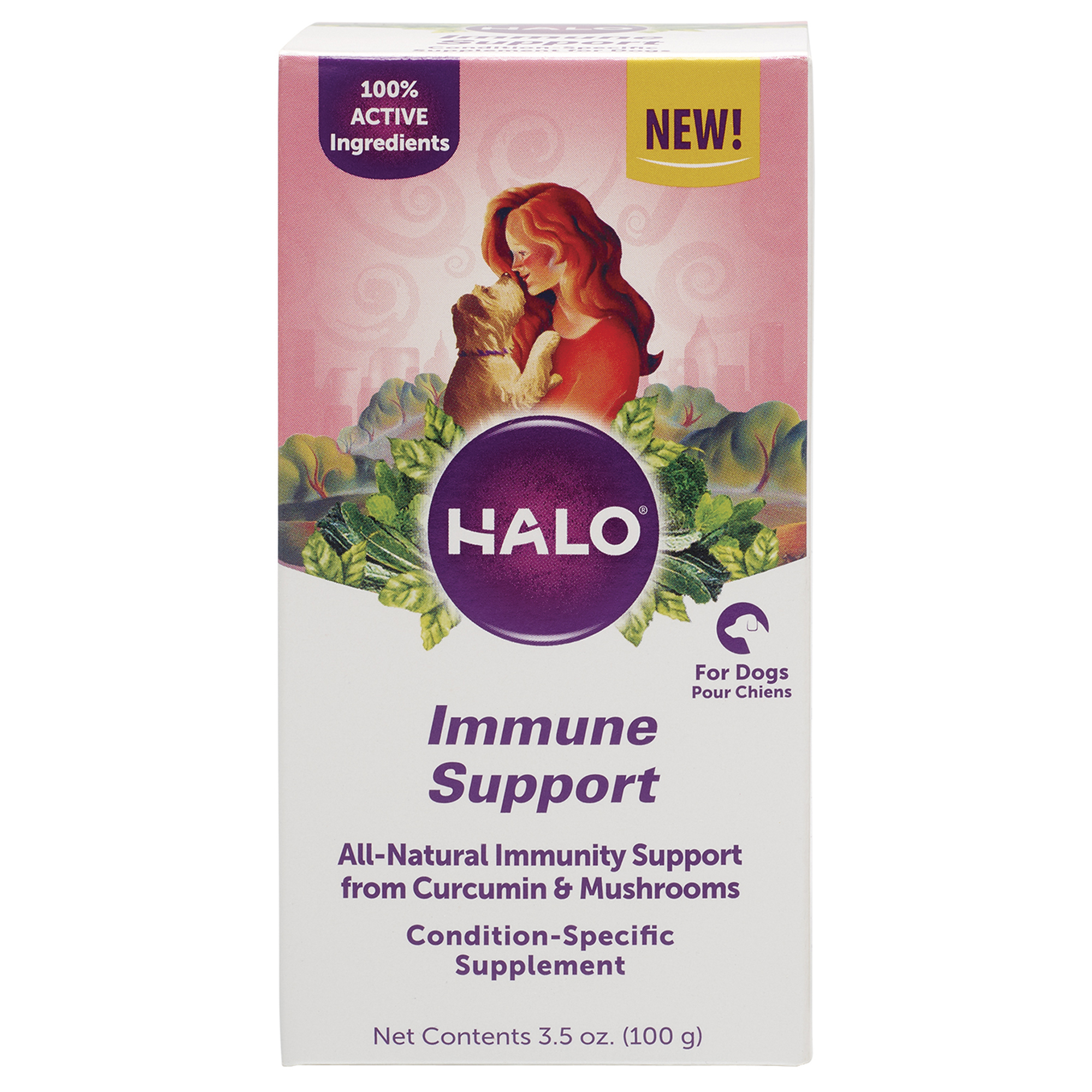 Halo Whole Food Immune Support Supplement for Dogs, 3.5 oz.