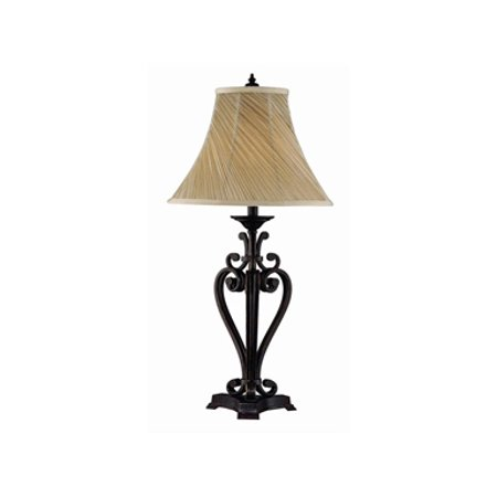 Stein Word Angers Scroll Iron Table Lamp Twist Shade In Pack Of 2