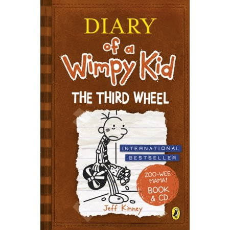 Diary of a Wimpy Kid: The Third Wheel book & CD (Paperback) (Third Grade Halloween Arts And Crafts)