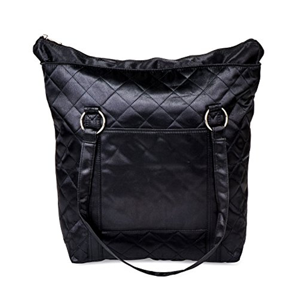 Spectra Baby USA - Breast Pump & Collection Kit Tote Bag - Black - for Storing and Transporting