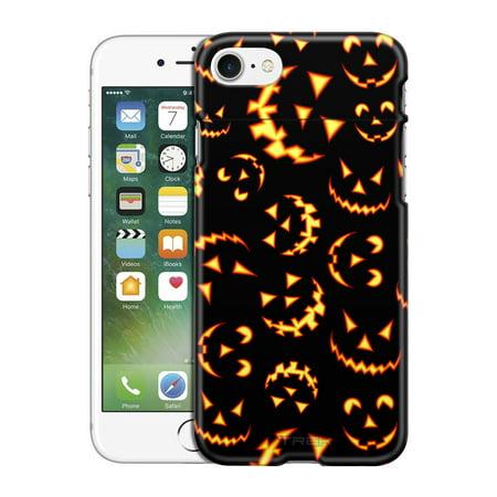 Apple iPhone 7 TREK Case - Halloween Jack-o-Lantern Pattern