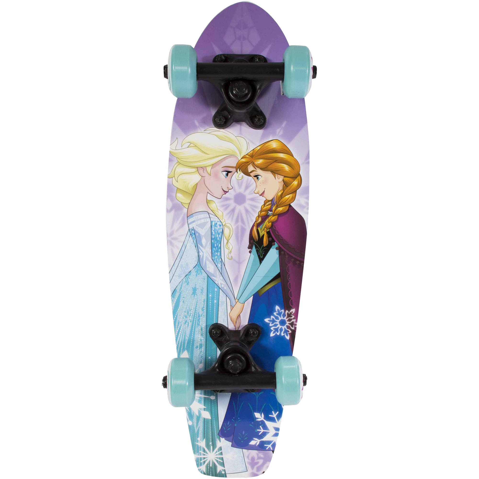 "Playwheels Disney Frozen Kids 21"" Complete Skateboard"