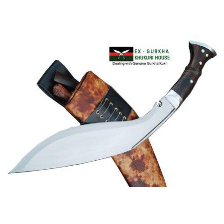 Genuine Gurkha Full Tang Hand Forged Blade Khukri Knife - 13